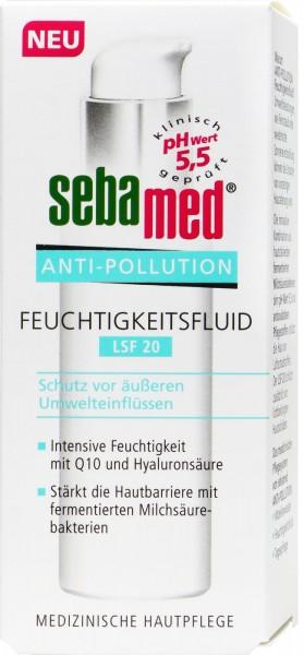 Sebamed Anti-Pollution Feuchtigkeitsfluid - 30 ml