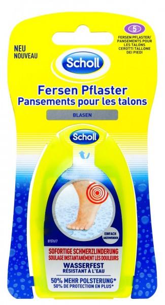 Scholl Blastenpflaster Ferse Transparent, 5 er
